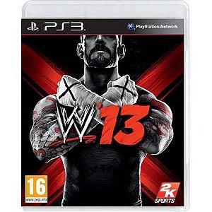 WWE 13 Seminovo – PS3