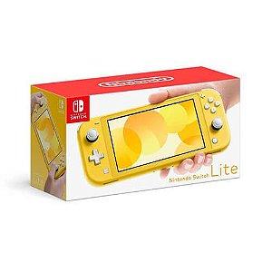 Console Nintendo Switch Lite Yellow Seminovo