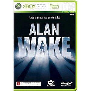 Alan Wake Seminovo – Xbox 360