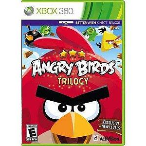 Angry Birds Trilogy Kinect Seminovo- Xbox 360