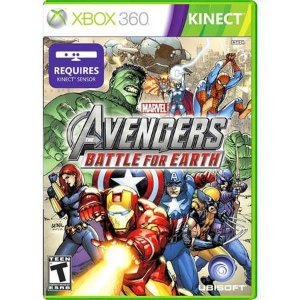 Avengers Battle for Earth Kinect Seminovo – Xbox 360
