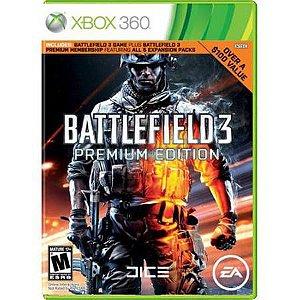Battlefield 3: Premium Edition Seminovo – Xbox 360