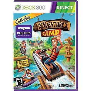 Cabela's Adventure Camp Kinect Seminovo – Xbox 360