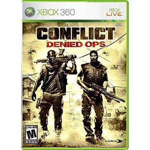 Conflict: Denied Ops Seminovo – Xbox 360