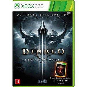 Diablo 3 Reaper Of Souls Ultimate Evil Edition Seminovo – Xbox 360