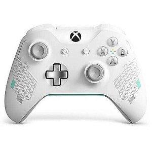 Controle Xbox One S Sport White Special Edition Mostruário - Xbox One