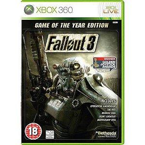 Fallout 3 Seminovo – Xbox 360