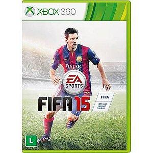 FIFA 15 BR Seminovo – Xbox 360
