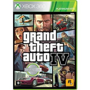 Grand Theft Auto GTA IV Seminovo – Xbox 360