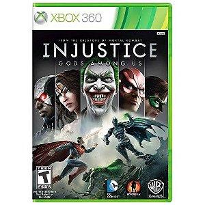 Injustice God Among Us Seminovo - Xbox 360