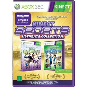 Kinect Sports- Ultimate Collection Seminovo – Xbox 360