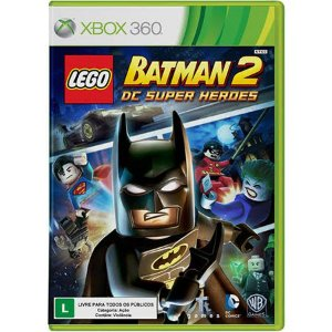 Lego Batman 2 DC Super Heroes Seminovo – Xbox 360