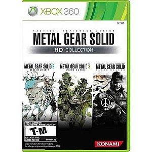 Metal Gear Solid Hd Collection Seminovo – Xbox 360