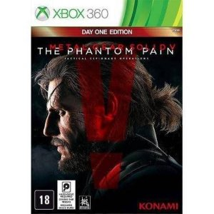Metal Gear Solid V The Phantom Pain Seminovo – Xbox 360