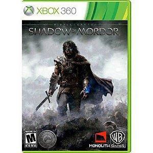 Middle Earth Shadow Of Mordor Seminovo – Xbox 360