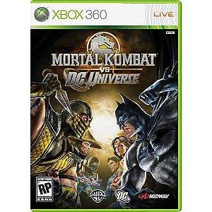 Mortal Kombat Vs. Dc Universe Seminovo – Xbox 360