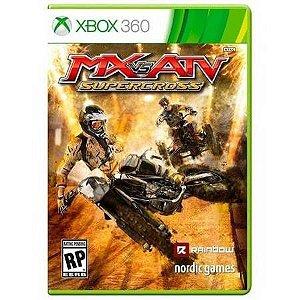 Mx Vs Atv Supercross Seminovo – Xbox 360