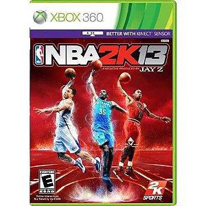 NBA 2k13 Seminovo – Xbox 360