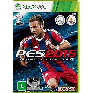 Pro Evolution Soccer 2015 Seminovo – Xbox 360