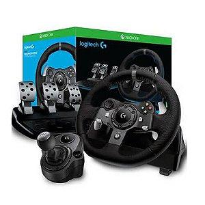 Volante De Corrida Logitech G920 + Câmbio (Shifter ) – PC/Xbox One