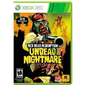 Red Dead Redemption Undead Nightmare Seminovo – Xbox 360