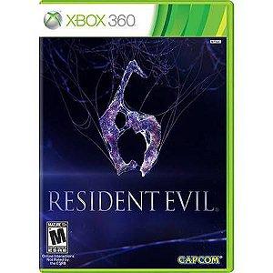 Resident Evil 6 Seminovo – Xbox360