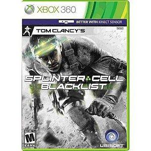 Splinter Cell: Blacklist Seminovo- Xbox 360