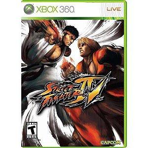 Street Fighter 4 Seminovo – Xbox 360