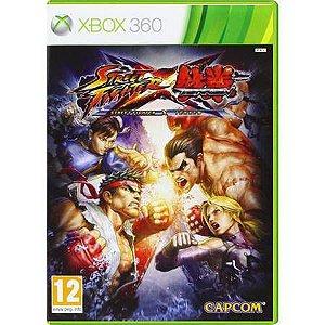 Street Fighter X Tekken Seminovo – Xbox 360