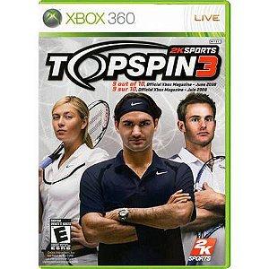 Top Spin 3 Seminovo – Xbox 360