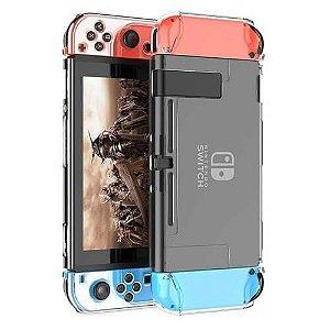 Case Acrílica Crystal /Fumê- Nintendo Switch