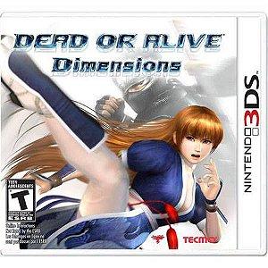 Dead or Alive Dimensions Seminovo – 3DS