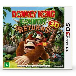 Donkey Kong Country Returns 3D Seminovo – 3DS