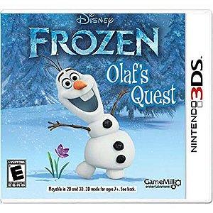 Frozen Olaf's Quest Seminovo – 3DS