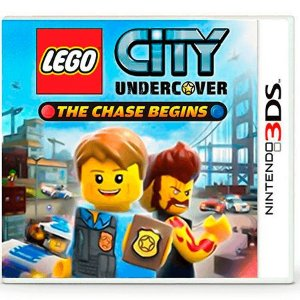 Lego City Undercover: The Chase Begins Seminovo – 3DS