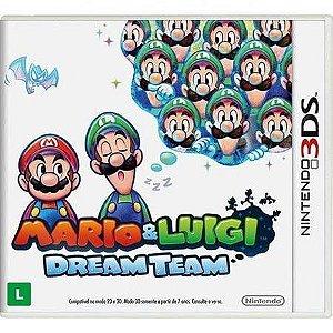 Mario Luigi: Dream Team Seminovo – 3DS