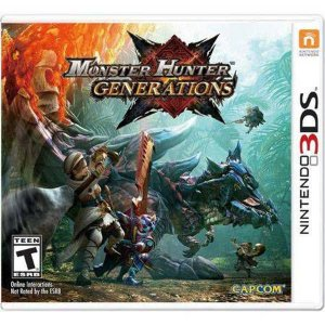 Monster Hunter Generations Seminovo – 3DS