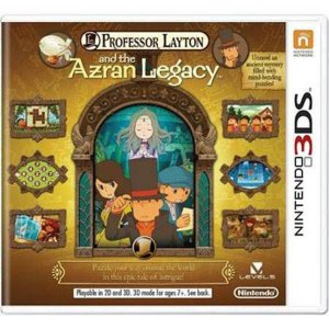 Professor Layton And The Azran Legacy Seminovo – 3DS