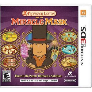 Professor Layton And The Miracle Mask Seminovo – 3DS