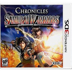 Samurai Warriors Chronicles Seminovo – 3DS