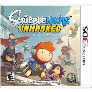 Scribblenauts Unmasked A Dc Comics Adventure Seminovo – 3DS