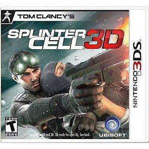 Splinter Cell 3D Seminovo – 3DS