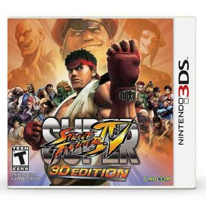 Super Street Fighter 3D Edition Seminovo – 3DS