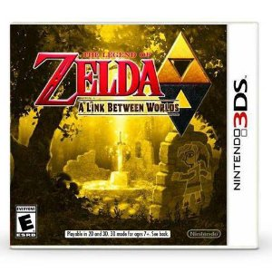 The Legend Of Zelda A Link Between Worlds Seminovo – 3DS