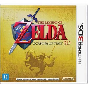 The Legend Of Zelda Ocarina Of Time Seminovo – 3DS
