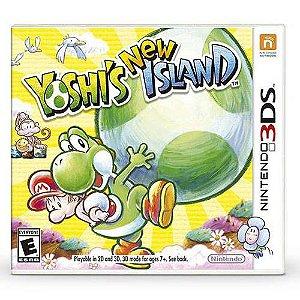 Yoshi's New Island Seminovo – 3DS