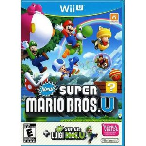 New Super Mario Bros. U + New Luigi U Seminovo – WII U