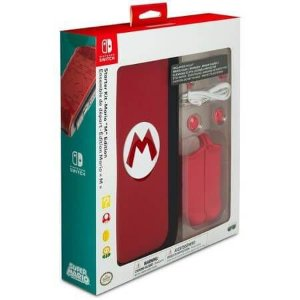 Starter Kit Case Mario M Edition Nintendo Switch