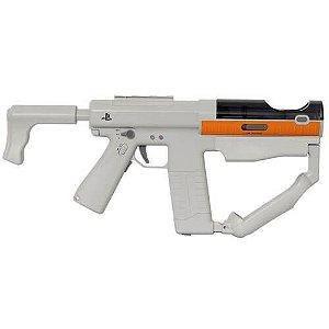 Adaptador de Disparo Sharp Shooter Playstation Move Não acompanha Controles – PS4 / PS3