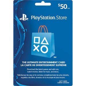 Cartão PSN $50 – Playstation Network Card – USA